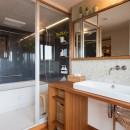 南越谷Mさんの家の写真 デザイン性の良いユニットバス