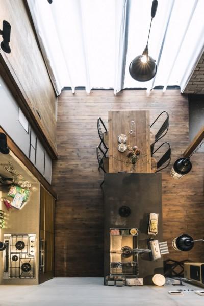 ゆったり調理が出来る2列型キッチン (各務原市 N様邸|enjoy weekend!)