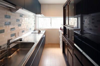 キッチン (築80年の長屋を「碧の家 」に)