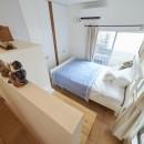 Arbre-外観は古民家風に、空間はイギリスのB&Bのようにの写真 ベッドルーム