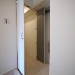 SICのある玄関