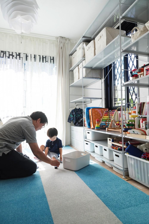 岐阜市 A様邸|Achromatic color -生活を通して毎日が色づく家- (フリースペース)
