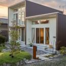 3-BOX 1800万円の家の写真 庭と外観