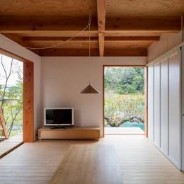 two house (広間(リビング))