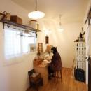 Anfield -レイソルサポーターが柏に建てた素焼きレンガの家-の写真 DIY部屋