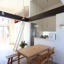 Anfield -レイソルサポーターが柏に建てた素焼きレンガの家-の写真 ダイニング