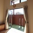 Anfield -レイソルサポーターが柏に建てた素焼きレンガの家-の写真 バルコニー
