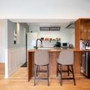 築54年の団地リノベの写真 キッチン