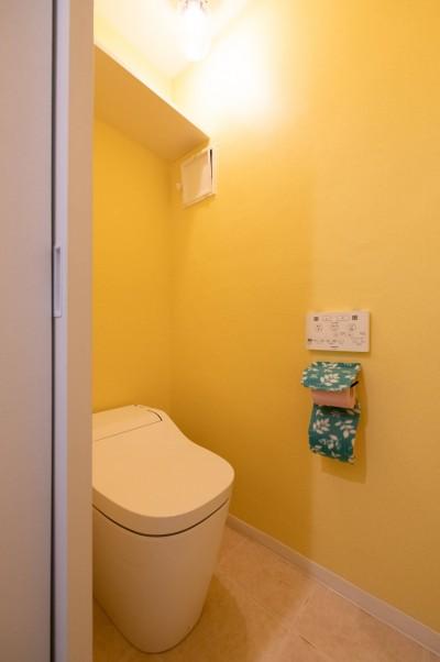 トイレ (築54年の団地リノベ)