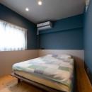 築54年の団地リノベの写真 ベッドルーム