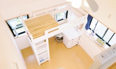 子供部屋を増築 のびやかに成長できる空間
