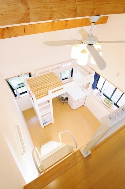 子供部屋 (子供部屋を増築 のびやかに成長できる空間)
