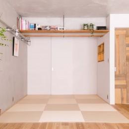 畳スペース (DAIRY+~住み慣れた住まいを自分好みへ。風情漂う京町家~)