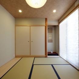 元山城に建つドックランのある家 -滋賀の家- (和室)