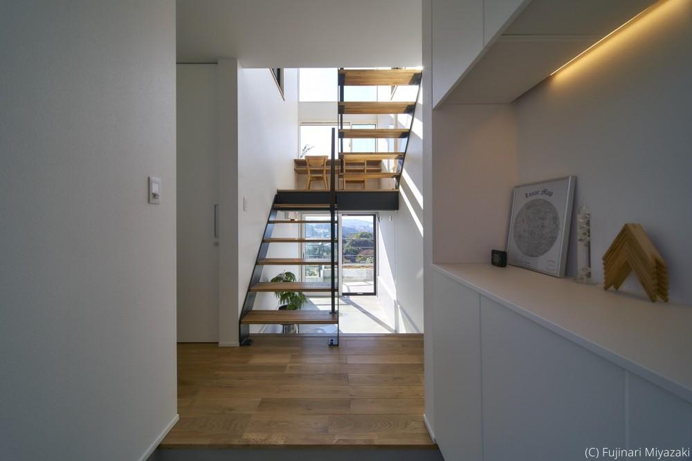 梅田町の家 | House in Umeda (玄関)