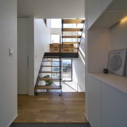 玄関 (梅田町の家 | House in Umeda)