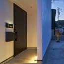 梅田町の家 | House in Umedaの写真 玄関ポーチ