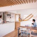 nap.~ついお昼寝をしたくなる、光と風が心地よい住まい~の写真 ダイニングキッチン