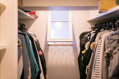 ウォークインクローゼット&内窓 (nap.~ついお昼寝をしたくなる、光と風が心地よい住まい~)