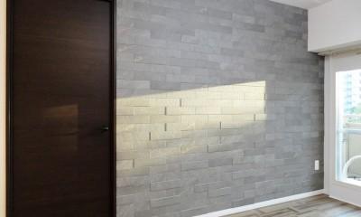 石壁のインテリアウォール (洋室)