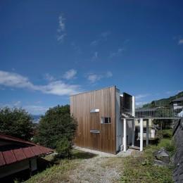 諏訪湖畔のアトリエ 諏訪の家