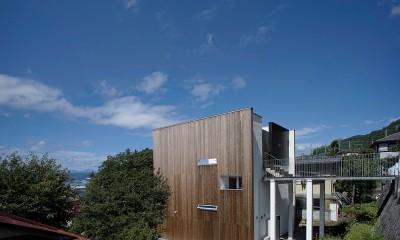 外観|諏訪湖畔のアトリエ 諏訪の家