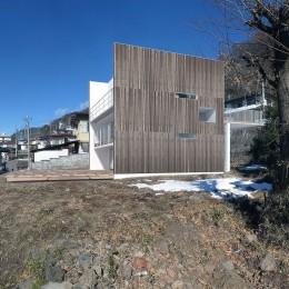 諏訪湖畔のアトリエ|諏訪の週末の家 (パース)