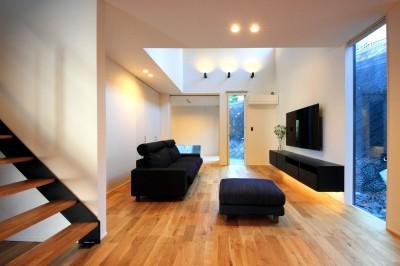 相浦の家 | House in Ainoura (リビング)
