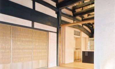 土間のある家| 500年目の大修理、旧家リノベーション (エントランス)