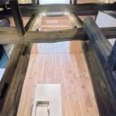 土間のある家| 500年目の大修理、旧家リノベーションの写真 キッチン リビング