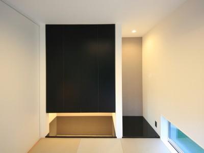 和室 (相浦の家 | House in Ainoura)