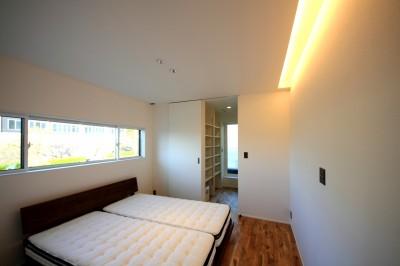 寝室 (相浦の家 | House in Ainoura)