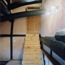 土間のある家| 500年目の大修理、旧家リノベーションの写真 中二階