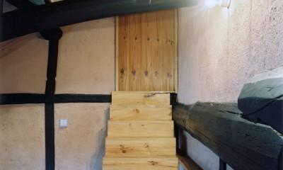 土間のある家| 500年目の大修理、旧家リノベーション (中二階)