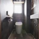 I邸_子どもと一緒に夢見る家の写真 トイレ