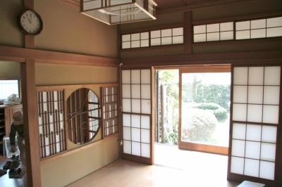 和室6畳解体前 (懐かしい新しさをつくる 和のリノベーション(木造1戸建てリノベーション))
