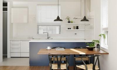 ダイニング キッチン|間窓の家 - ギャラリーのある暮らし