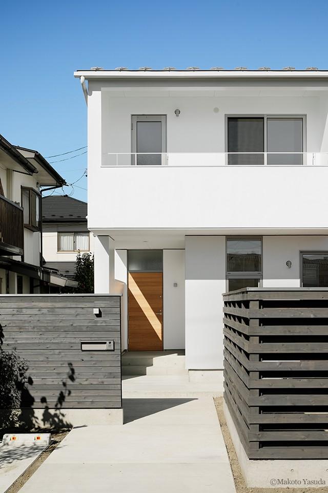 間窓の家 - ギャラリーのある暮らし (外観)