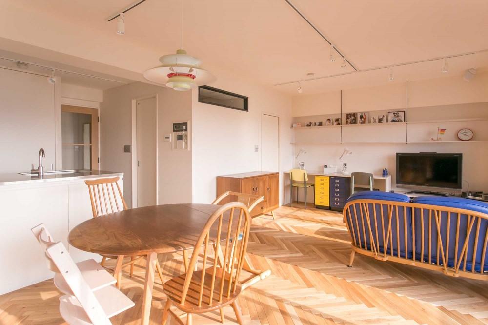 tone in~大切にしている家具が、そっと暮らしに調和する住まい~ (リビングダイニング)
