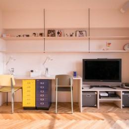 tone in~大切にしている家具が、そっと暮らしに調和する住まい~