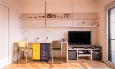 tone in~大切にしている家具が、そっと暮らしに調和する住まい~ (リビング)