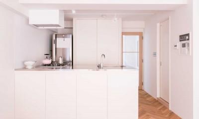 tone in~大切にしている家具が、そっと暮らしに調和する住まい~ (キッチン)