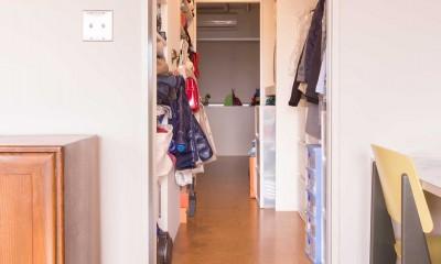 tone in~大切にしている家具が、そっと暮らしに調和する住まい~ (ウォークインクローゼット)