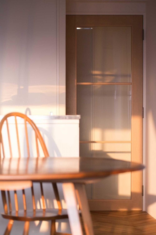 tone in~大切にしている家具が、そっと暮らしに調和する住まい~ (造作建具)