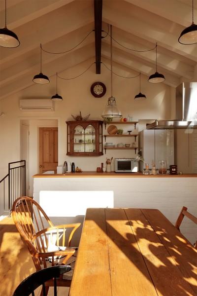 キッチン (こもれびハウス)