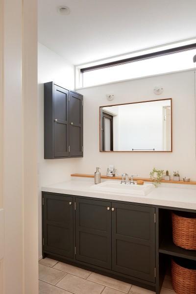洗面室 (こもれびハウス)