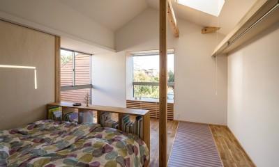 zubeneschamali/陽が当たらない与条件で、金太郎飴のような断面形状を考えてみる。 (寝室)