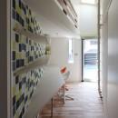 あちこちでお茶できる家 -土間のある玄関-の写真 2階ファミリールーム