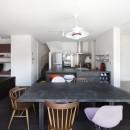 あちこちでお茶できる家 -土間のある玄関-の写真 ダイニングキッチン
