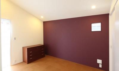 あちこちでお茶できる家 -土間のある玄関- (寝室)